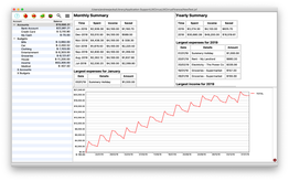 JXCirrus Finance for Mac
