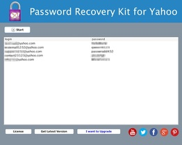 Password Recovery Kit for Yahoo
