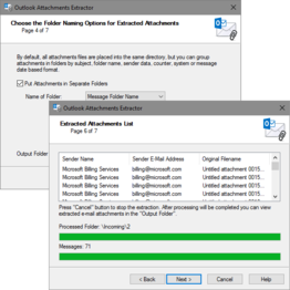 Attachments Extractor for Outlook