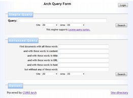 Arch Search Engine