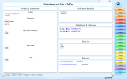 Notesbrowser Lite English