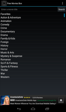 Free Movies Box for Android