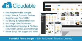 Cloudable – File Hosting Script