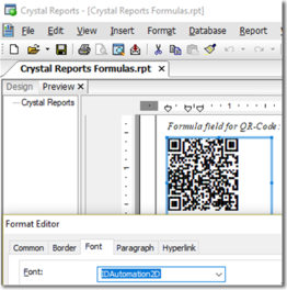 QR Code Font and Encoder Suite