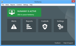 Nunanny Parental Controls