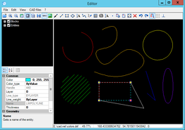 CAD .NET: DWG DXF CGM PLT library for C#