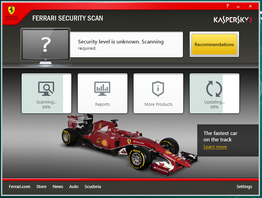 Ferrari Security Scan