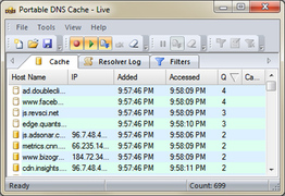 Portable DNS Cache and Firewall