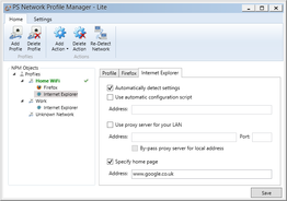Network Profile Manager Lite