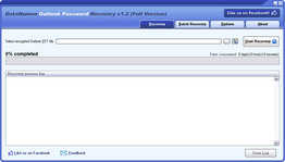 DataNumen Outlook Password Recovery