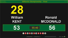 BallStream Billiards Scoreboard