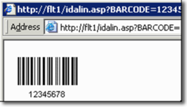 Streaming Databar Barcode Server for IIS