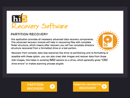 Hi5 Software Partition Recovery