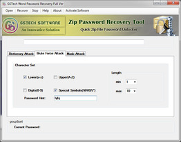 ZIP Password Recovery Software