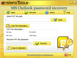 SysInfoTools Outlook Password Recovery