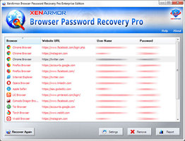 XenArmor Browser Password Recovery Pro