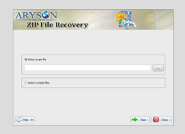 Aryson ZIP File Repair