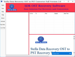 Outlook OST to PST Recovery Tool
