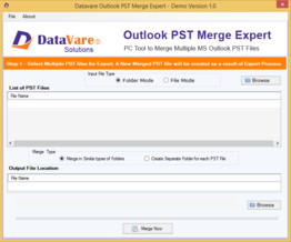 DataVare Outlook PST Merge Exprert