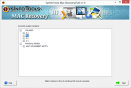 SysInfoTools Mac Data Recovery