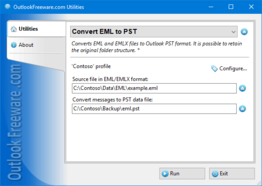 Convert EML to PST for Outlook