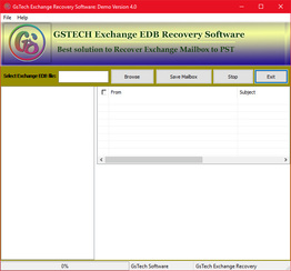 Recover Exchange Mailbox to PST