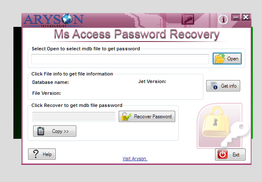 Aryson MS Access Password Recovery