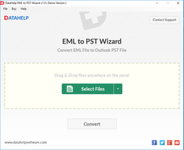 DataHelp EML to PST Conversion Tool