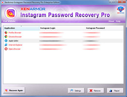 XenArmor Instagram Password Recovery Pro
