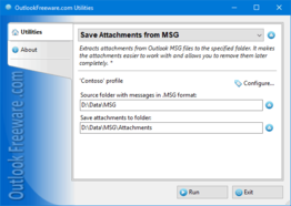 Save Attachments from MSG for Outlook