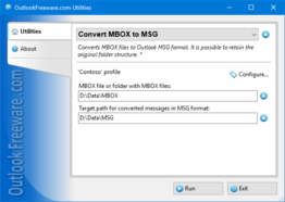Convert MBOX to MSG for Outlook