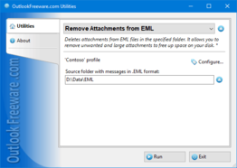 Remove Attachments from EML for Outlook