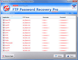 FTP Password Recovery Pro 2019
