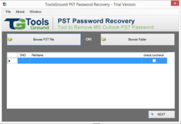 ToolsGround PST Password Recovery