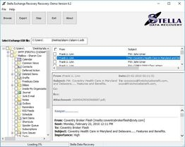 Exchange EDB to PST Manager