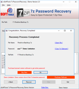 DigiCool 7z Password Unlocker