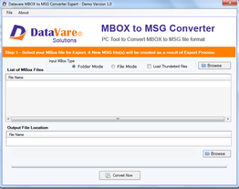 Toolsbaer MBOX to MSG Conversion Tool
