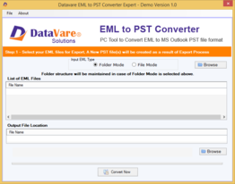 Toolsbaer EML to PST Conversion Tool