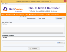 Toolsbaer EML to MBOX Conversion Tool