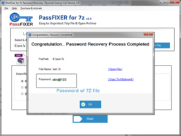 7z Password Unlocker