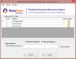 Datavare Outlook Password Recovery