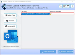 MailConverterTools PST Password Remover