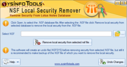 NSF Security Remover