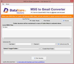 Datavare MSG to Gmail Converter Software