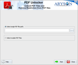 PDF Unlocker Software