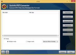SysInfoTools PST Converter for Windows