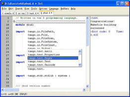 SciTE4D Text Editor for D1