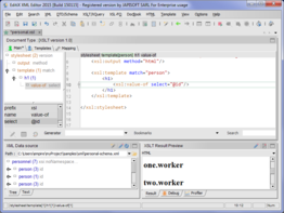 EditiX XML Editor (for Linux/Unix)