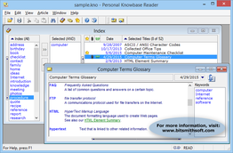 Personal Knowbase Reader