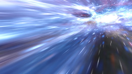 Animated Wallpaper: Hyperspace 3D